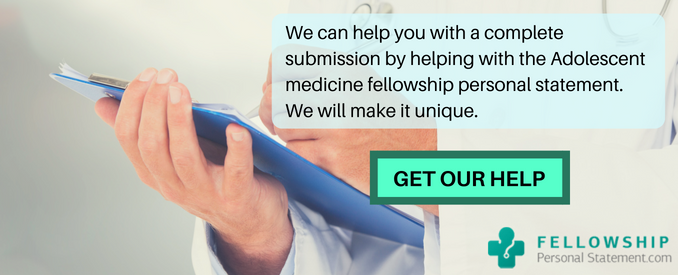 adolescent medicine fellowship