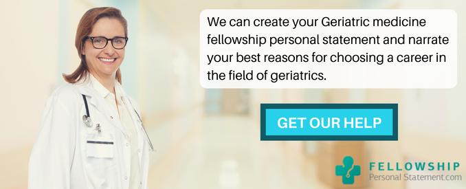 geriatric medicine fellowship