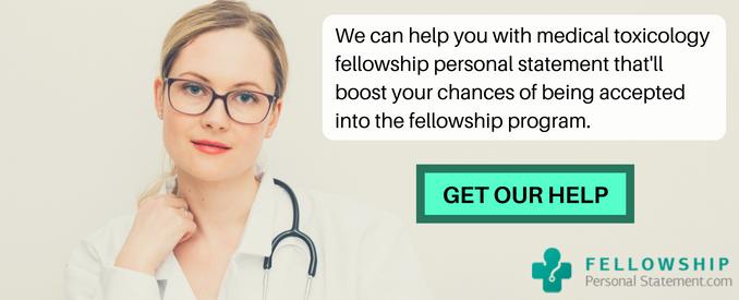 medical toxicology fellowship