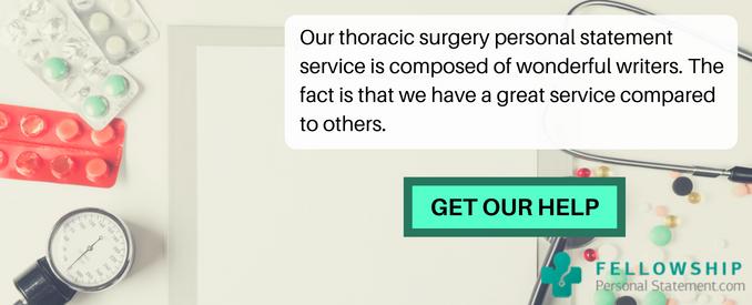 Thoracic Surgery fellowship