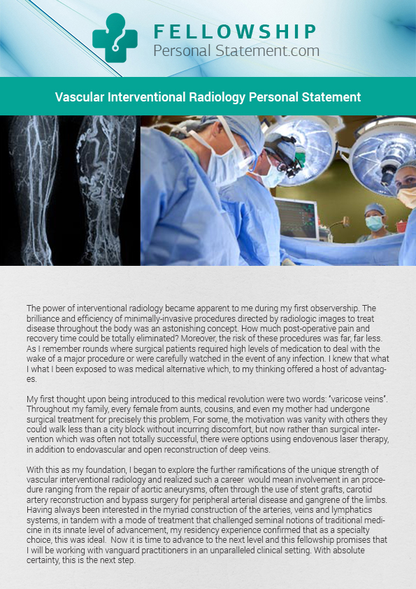 diagnostic radiology personal statement Clearly, the field of diagnostic radiology is changing, putting pressure on  technologists  statement of purpose for a residency program in radiology   radiology images, vital signs, personal stats like age and weight, and billing  information.