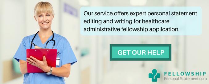 healthcare administrative fellowship