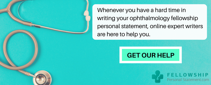 opthalmology fellowship personal statement service