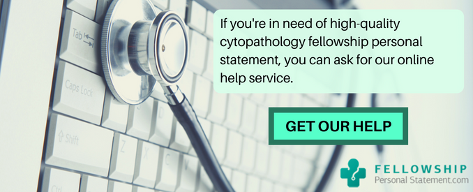 cytopathology fellowship application help
