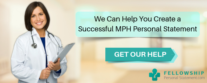 mph personal statement writing tips