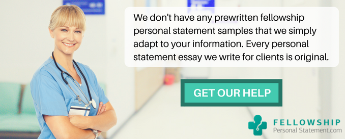 fellowship personal statement examples 1